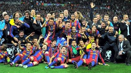 Le Barça champion d'Europe