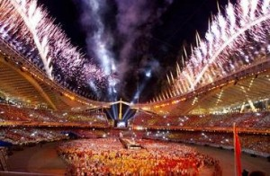 ceremonie cloture jo 2004
