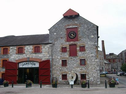Old Jameson distillery Irlande