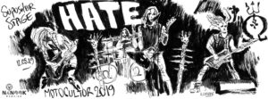 Hate-concert-motocultor-2019festival-nanook-webzine-report-article-sylvain-cnudde-dessins-direct-live-croquis