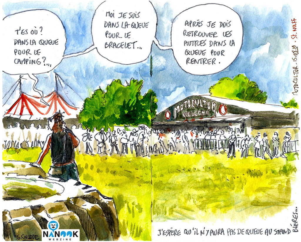 Queue-motocultor-2019-nanook-webzine-report-article-sylvain-cnudde-dessins-direct-live-croquis