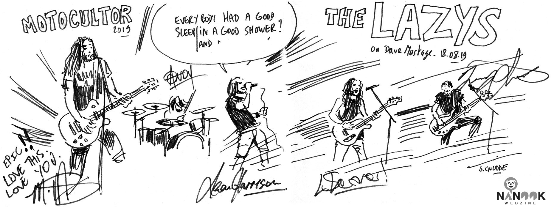 The_Lazys-festival-concert-motocultor-2019-nanook-webzine-report-article-sylvain-cnudde-dessins-direct-live-croquis